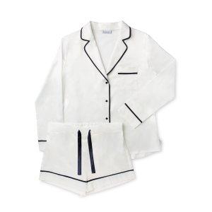 laze wear 白色睡衣
