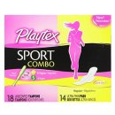 $3 Playtex Sport Combo Pack with Regular and Super Tampons and Ultra Thin Pads with Wings - 32 Count