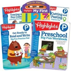 Highlights幼儿园练习册套装