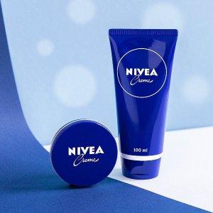 低至$7.19 收Q10紧致身体乳Nivea 妮维雅护肤品大促 收便宜大碗小蓝罐乳霜、温和卸妆水