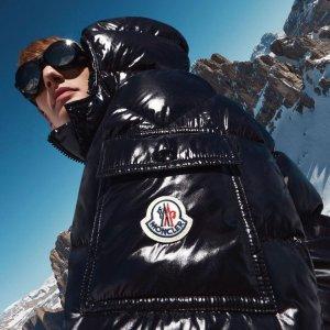 正价6折!€177就收Logo单肩包Moncler 时尚专场 收经典羽绒服、外套、轻薄夹克