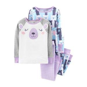 b3302b9a9 Carters Carter's Little Baby Basics 4pk Long Sleeve Bodysuits- Baby.  CartersCarter's 4-pc. Pajama Set Girls