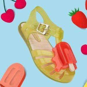 $35 收封面同款雪糕凉鞋Saks 奇趣童鞋 反季囤  Melissa、SW、Charlotte Olympia