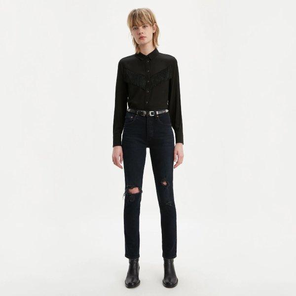 501 女士牛仔裤