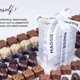 Maggie Louise口红巧克力/Sugarfina粉粉巧克力水晶熊熊的猎奇报告~~