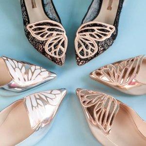最高减$100 抱回你的小蝴蝶最后一天:Sophia Webster 超仙平底高跟鞋满减热卖