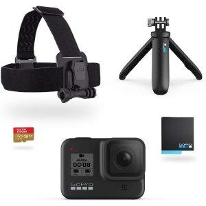 $399 (原价$499)GoPro HERO8 Black 4K 运动相机套装