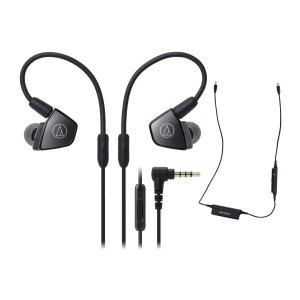$149 送耳塞套+保护壳独家:Audio-Technica ATH-LS300iS 入耳式耳机+蓝牙线套装