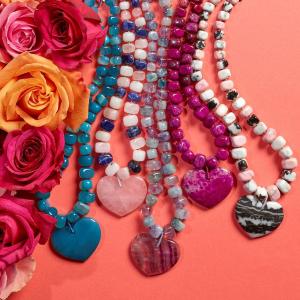 低至7折 £19起 ins超火英国小众品牌最后一天:Lola Rose 水晶五彩石 项链、手链、耳饰冬季大促