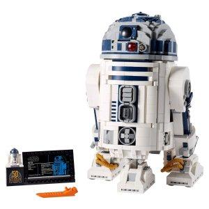 Lego售完即止!R2-D2™    Star Wars™机器人
