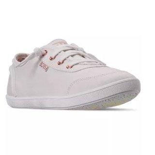 Skechers BOBS-B 女士休閑小白鞋 超美彩色底