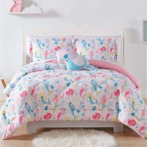 $23.99起macys 儿童床床品限时特卖 收可爱云朵抱枕