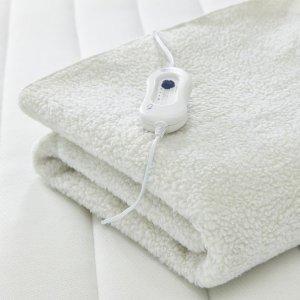 69折+包邮 £23.99收Silentnight 冬日必备电热毯 自己也能暖被窝