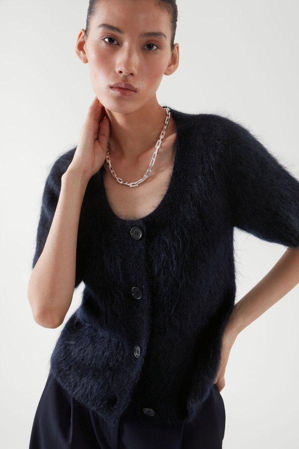 马海毛针织衫