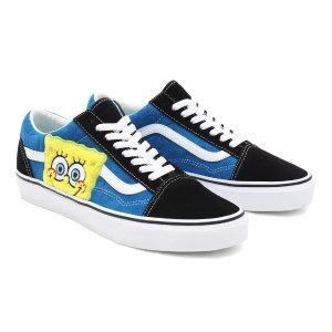 VansX SpongeBob Old Skool海绵宝宝