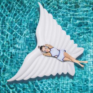 $10.99(原价$55.99)Jasonwell 天使之翼超大水上漂浮玩具 两色可选