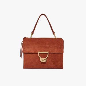 CoccinelleArlettis Maxi in Mars Dust - Women's Shoulder Bags | Coccinelle