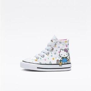 大童Hello Kitty联名款 $19.6包邮Converse官网 童款促销区额外7折热卖