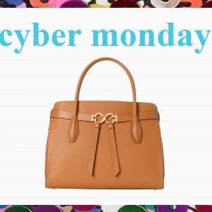 低至6折 最后机会网络星期一:Kate Spade 全场大促 收少女心满满的美包、配饰