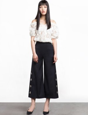 Pixie Market 西装式阔腿裤