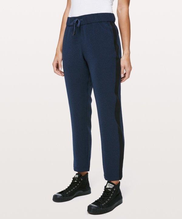高腰休闲裤