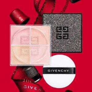 限时7折 €33.5收限定四格散粉Givenchy 纪梵希 2020圣诞彩妆 星光璀璨系列 blingbling超仙