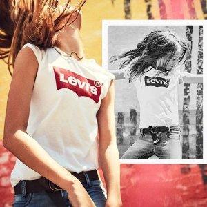 最高满减$140 变相68折Levi's李维斯男女卫衣牛仔裤热卖 卫衣走一波