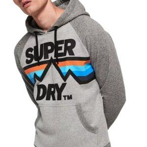 低至6折+额外7折Superdry 男士潮服热卖 $27收卫衣