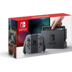$231.22 无税二手(Very Good) Nintendo Switch 主机 含灰色 Joy-Con