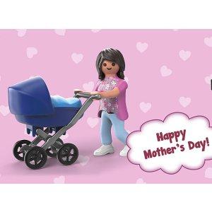 最高满减$45Playmobil 德国儿童创造性拼装玩具母亲节促销