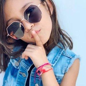 8折 保护眼睛,酷炫有型新品上市:GLAMBABY 儿童太阳镜热卖 为时尚宝宝们的穿搭点睛