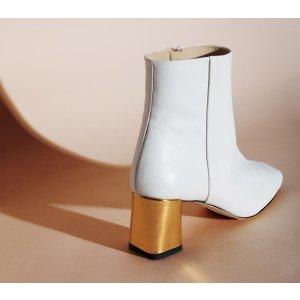 Repetto白色裸靴