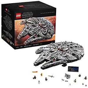 $1299.9 罕见补货LEGO 星战系列 终极收藏版新千年隼 75192