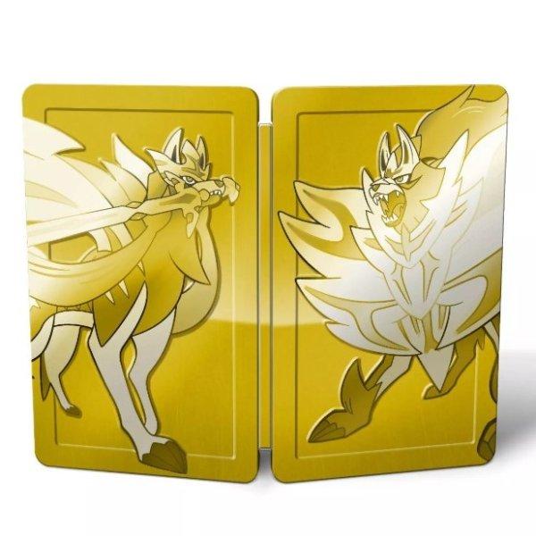 《宝可梦 剑盾合集 金色铁盒收藏版》Switch 实体版