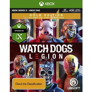 UBISOFT《看门狗:军团》 黄金版 - Xbox One