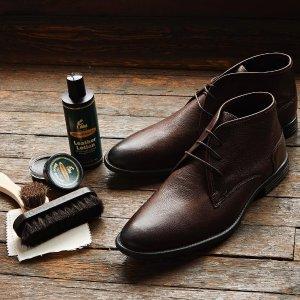 一律$59.99Men's Wearhouse 精选男士商务皮鞋促销
