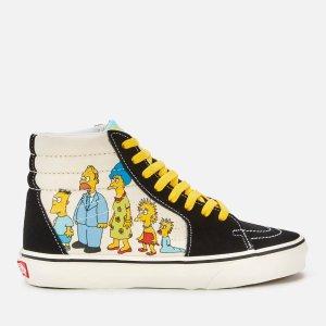 Vans X The Simpsons Sk8 Hi-Top 板鞋