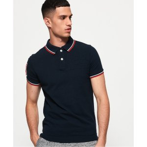 Superdry2  for $60Classic Super Tri Polo Shirt