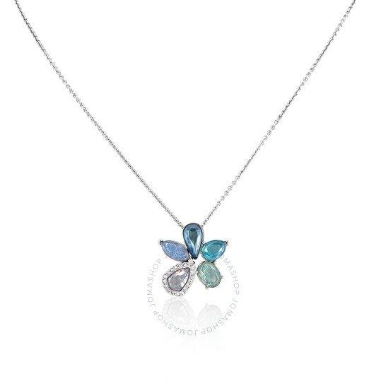 Sunny Necklace, Light蓝花项链