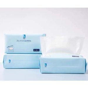 3包€24.5 平均€0.13/张ITO 抽取式洗脸巾 3包x60抽 100%全棉 敏感肌婴儿也能放心用