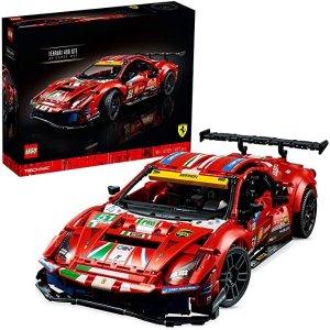 Lego官网售价€179.9942125 法拉利 488 GTE