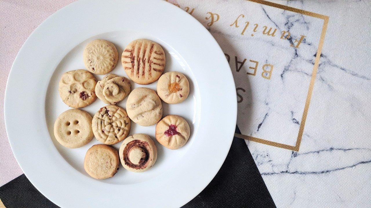 巧妙利用厨房小物,十款花式cookie轻松get