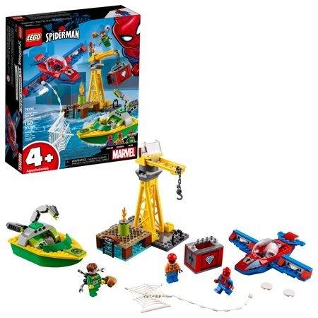 超级英雄蜘蛛侠: 钻石保卫战 76134