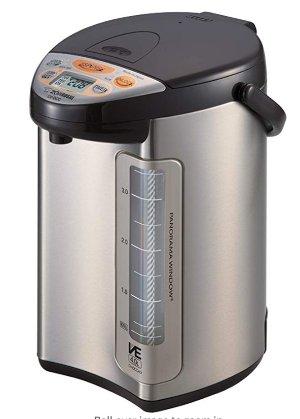Zojirushi 586361-CV-DCC40XT America Corporation Ve Hybrid Water Boiler And Warmer, 4-Liter