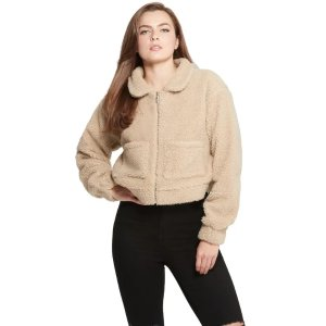GuessGiada Teddy Faux-Fur Jacket