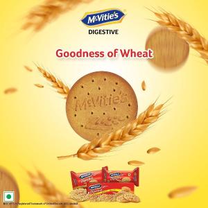 仅€1.39/包 低卡高纤维McVitie's 全麦粗粮消化饼 不长肉 促进肠道蠕动 健康小零食