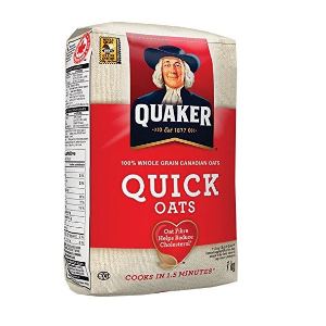 仅$2.47Standard Quaker 桂格营养即食燕麦片 1 Kg