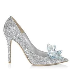 Jimmy Choo水晶高跟鞋 11厘米