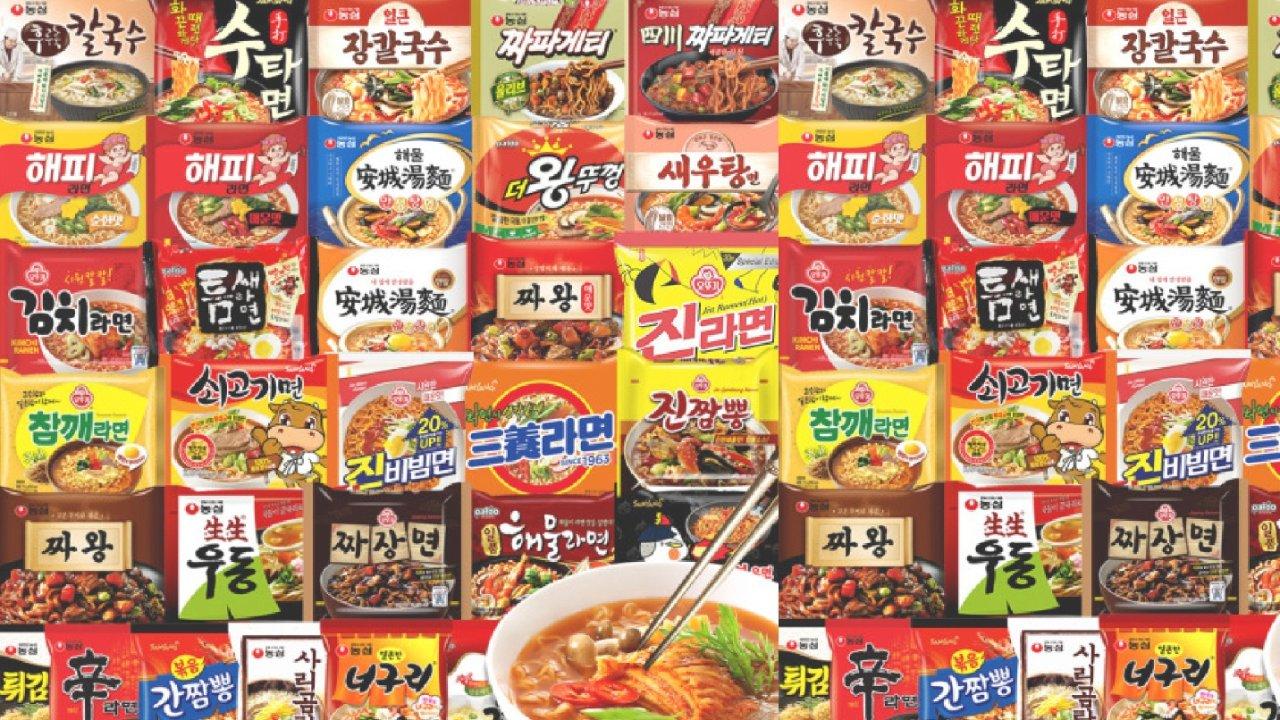 2021韩国泡面排行榜,好吃方便面终极大盘点,BTS防弹少年团同款拌面,看饿了!!