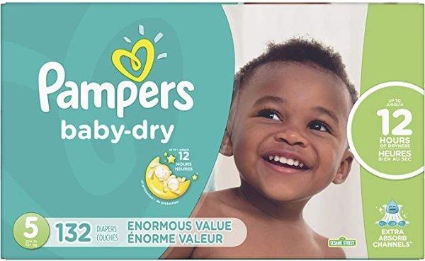 baby dry 5号纸尿裤132片